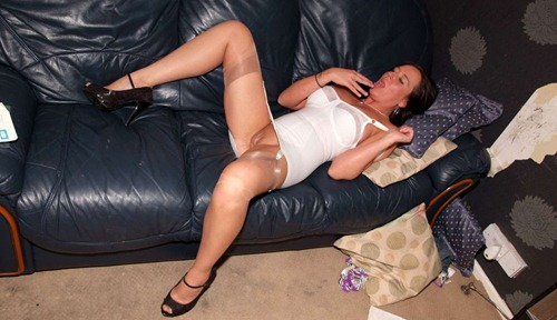hot mature playing with herself